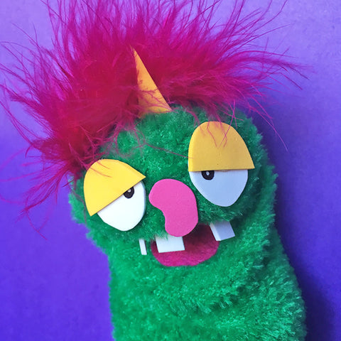 Sock Puppet Fred Beansburough