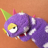 One-of-a-kind DINOSAUR Sock Puppet