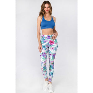 Tropical Floral Printed Leggings