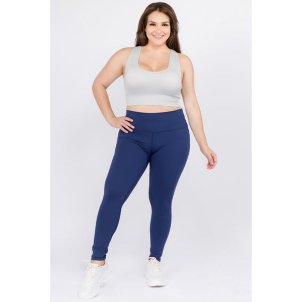 Navy Buttery Soft Leggings