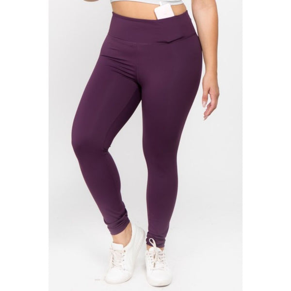 Purple Shift Active Leggings
