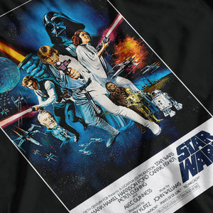 Star Wars Episode IV A New Hope Inspired Movie Poster T-Shirt