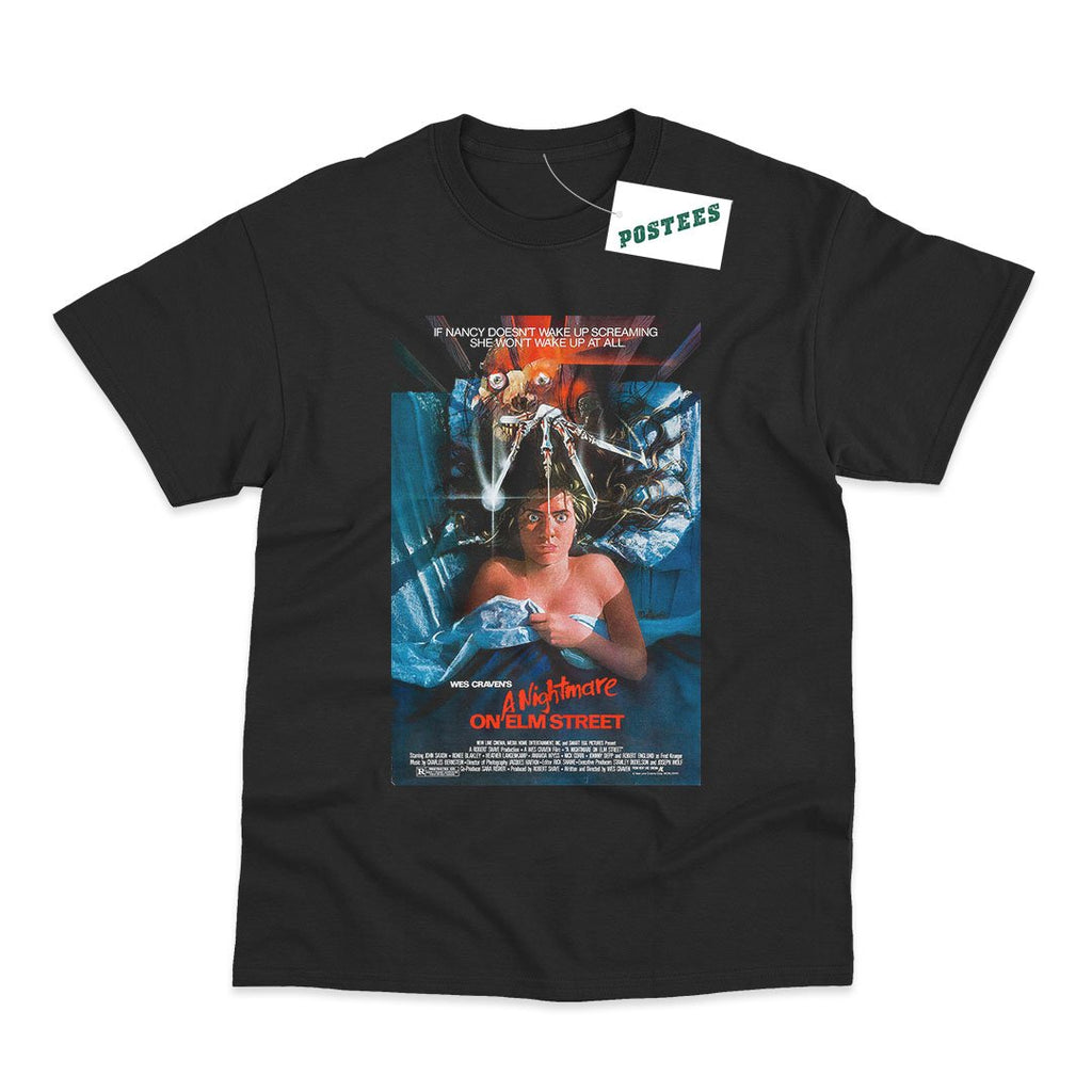 A Nightmare On Elm Street Movie Poster  T-Shirt - Postees