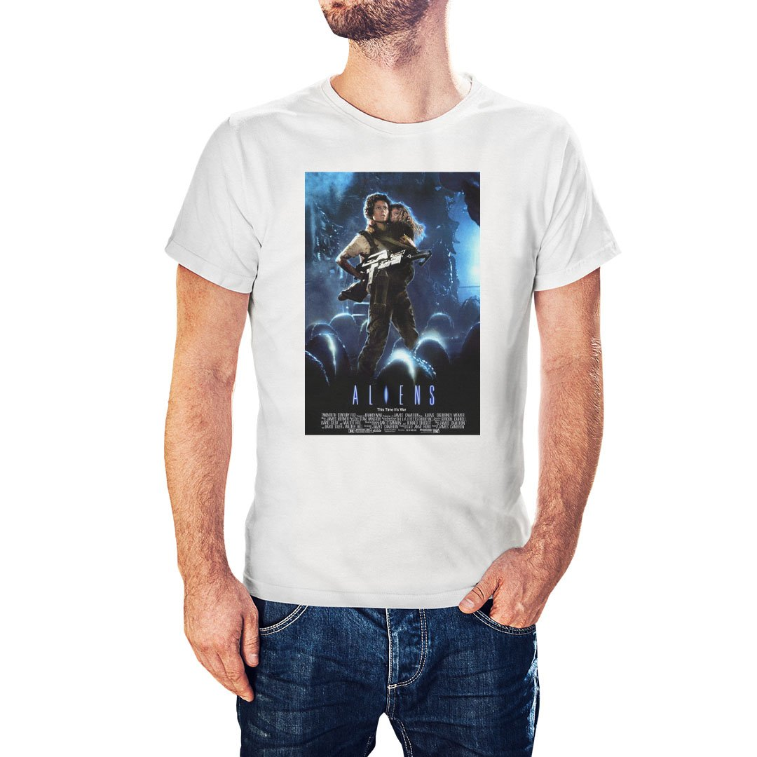 Aliens Movie Poster Inspired T-Shirt - Postees