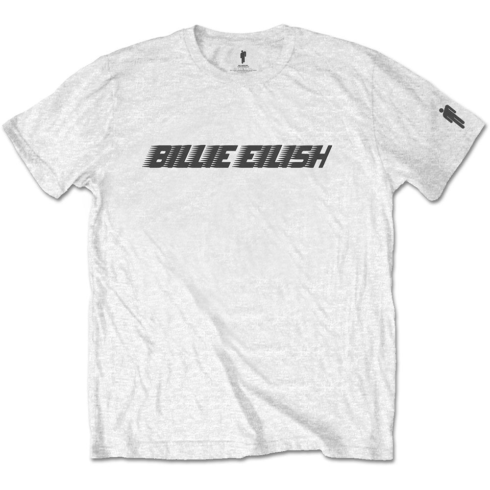 Official Billie Eilish Black Racer Logo T-Shirt