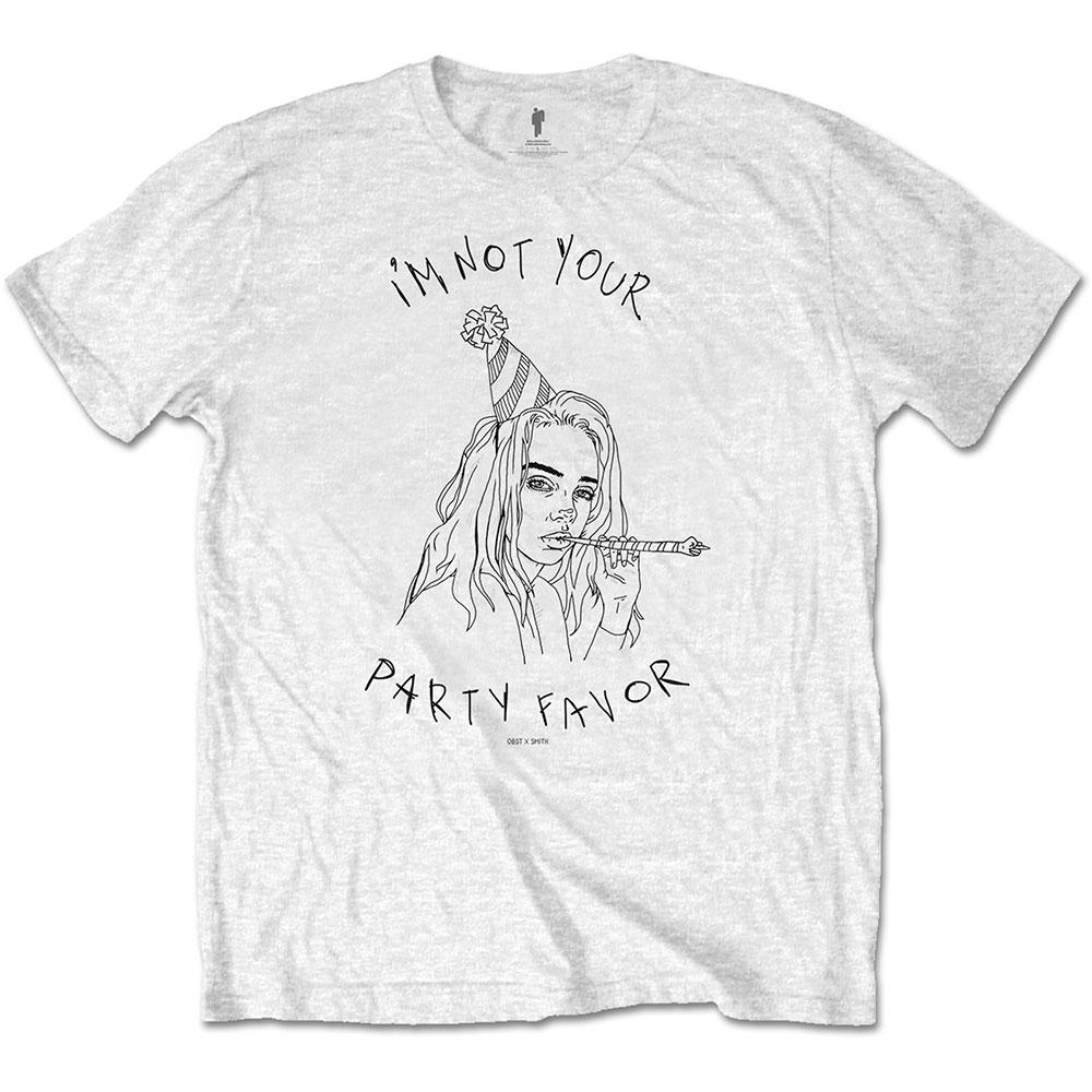 Official Billie Eilish Party Favour T-Shirt - Postees