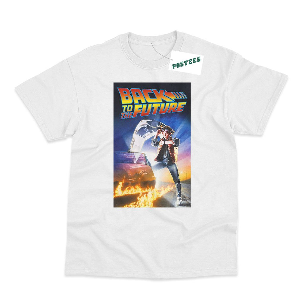 Back To The Future Movie Poster Inspired T-Shirt - Postees