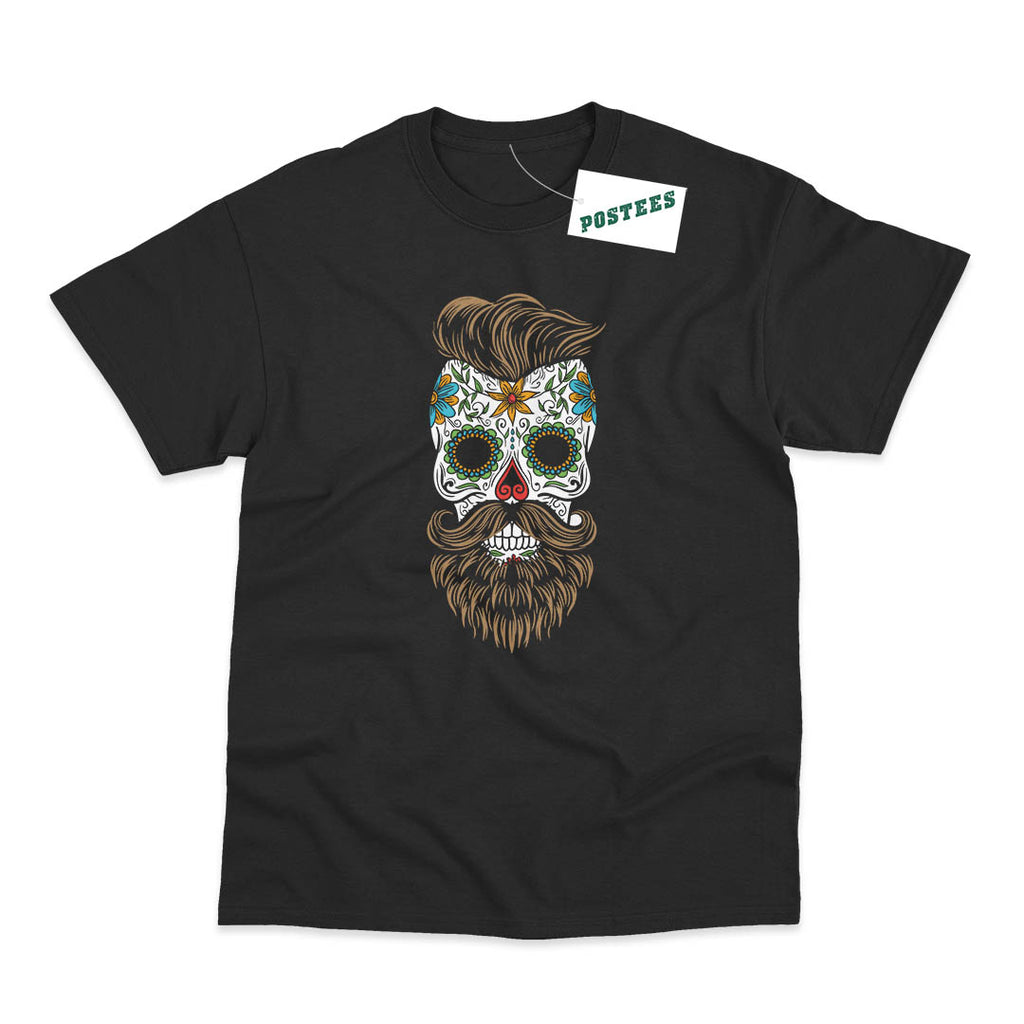 Sugar Skull Beard T-Shirt