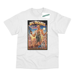 Big Trouble In Little China Movie Poster Inspired T-Shirt - Postees