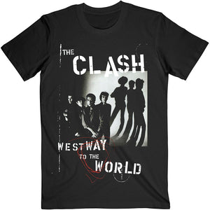 Official The Clash Westway To The World T-Shirt - Postees