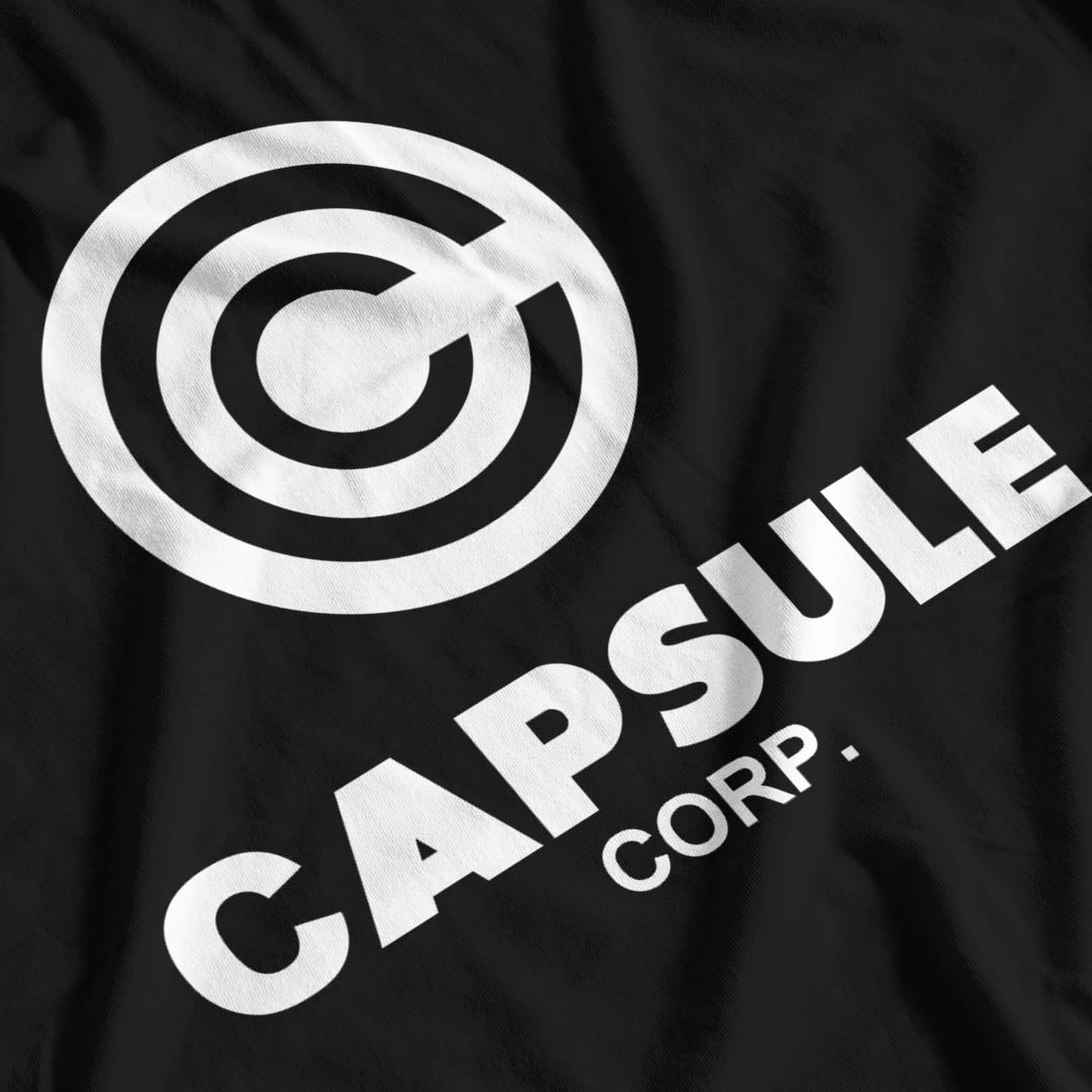 Dragon Ball Inspired Capsule Corp T-Shirt