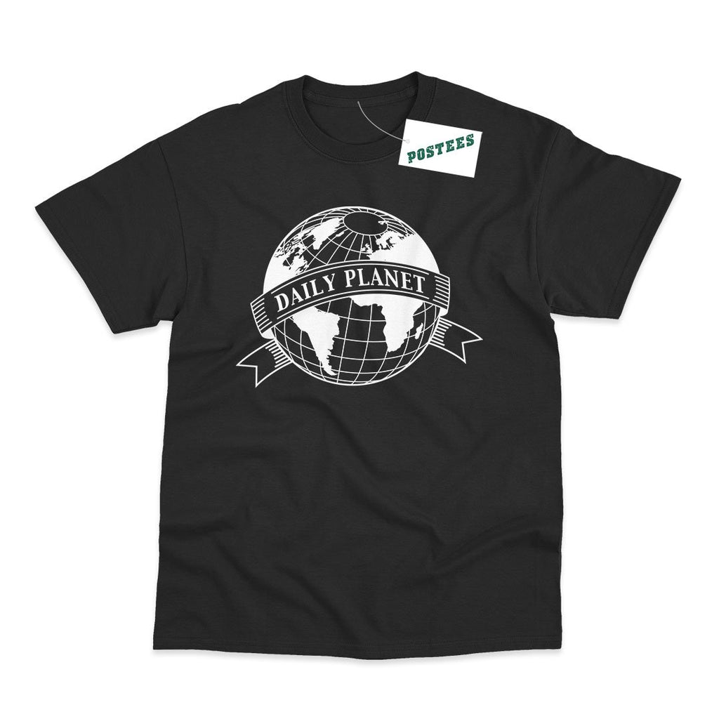 Superman Inspired Daily Planet Globe T-Shirt - Postees