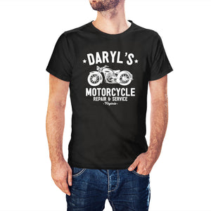 The Walking Dead Inspired Daryl's Motorcycle Repair T-Shirt