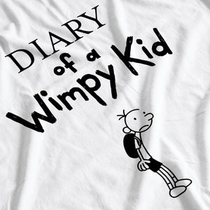 Jeff Kinney Book Inspired Diary Of A Wimpy Kid T-Shirt