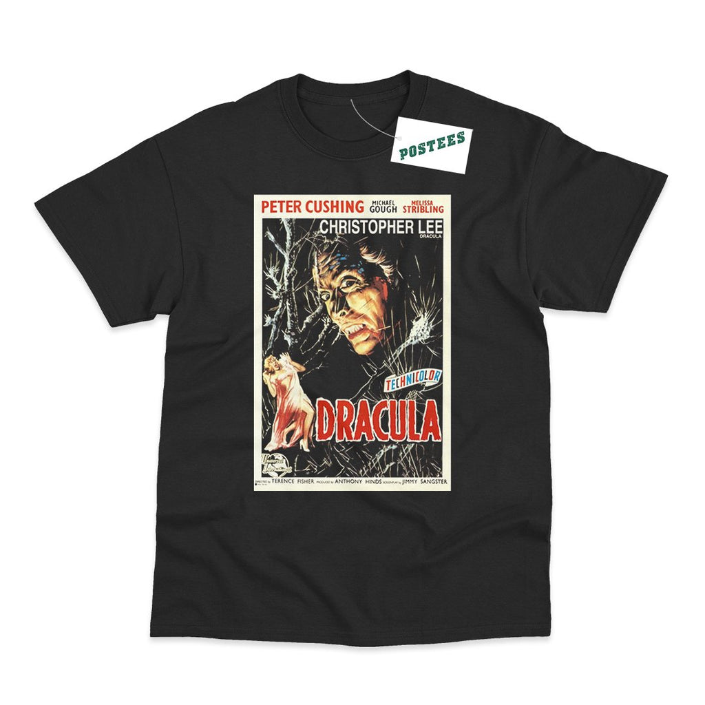 Dracula Movie Poster T-Shirt - Postees
