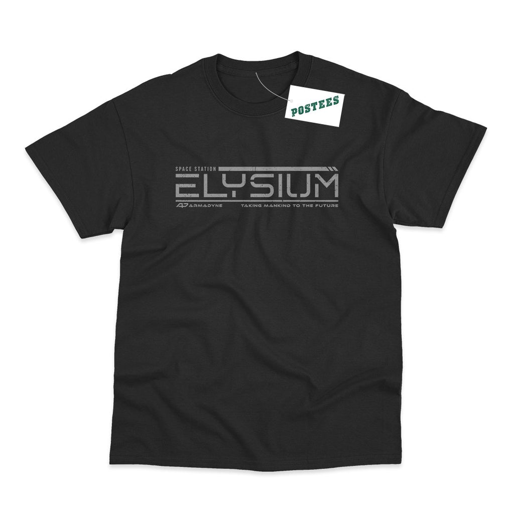 Elysium Inspired Elysium Space Station T-Shirt - Postees