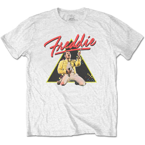 Official Freddie Mercury Triangle Printed T-Shirt