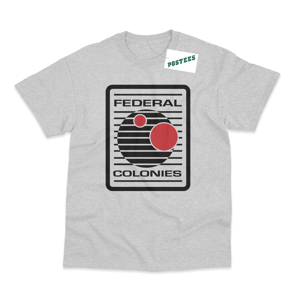 Total Recall Inspired Federal Colonies T-Shirt