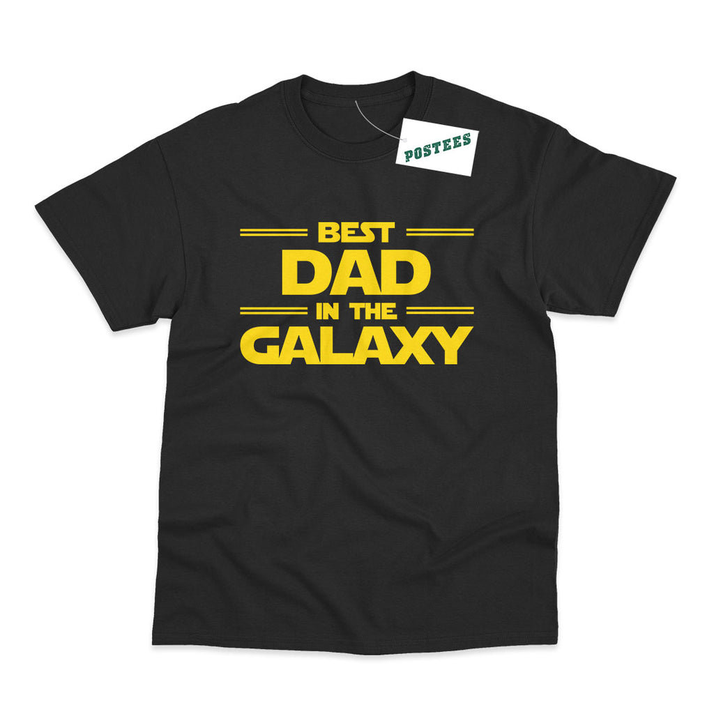 Star Wars Inspired Best Dad In The Galaxy T-Shirt
