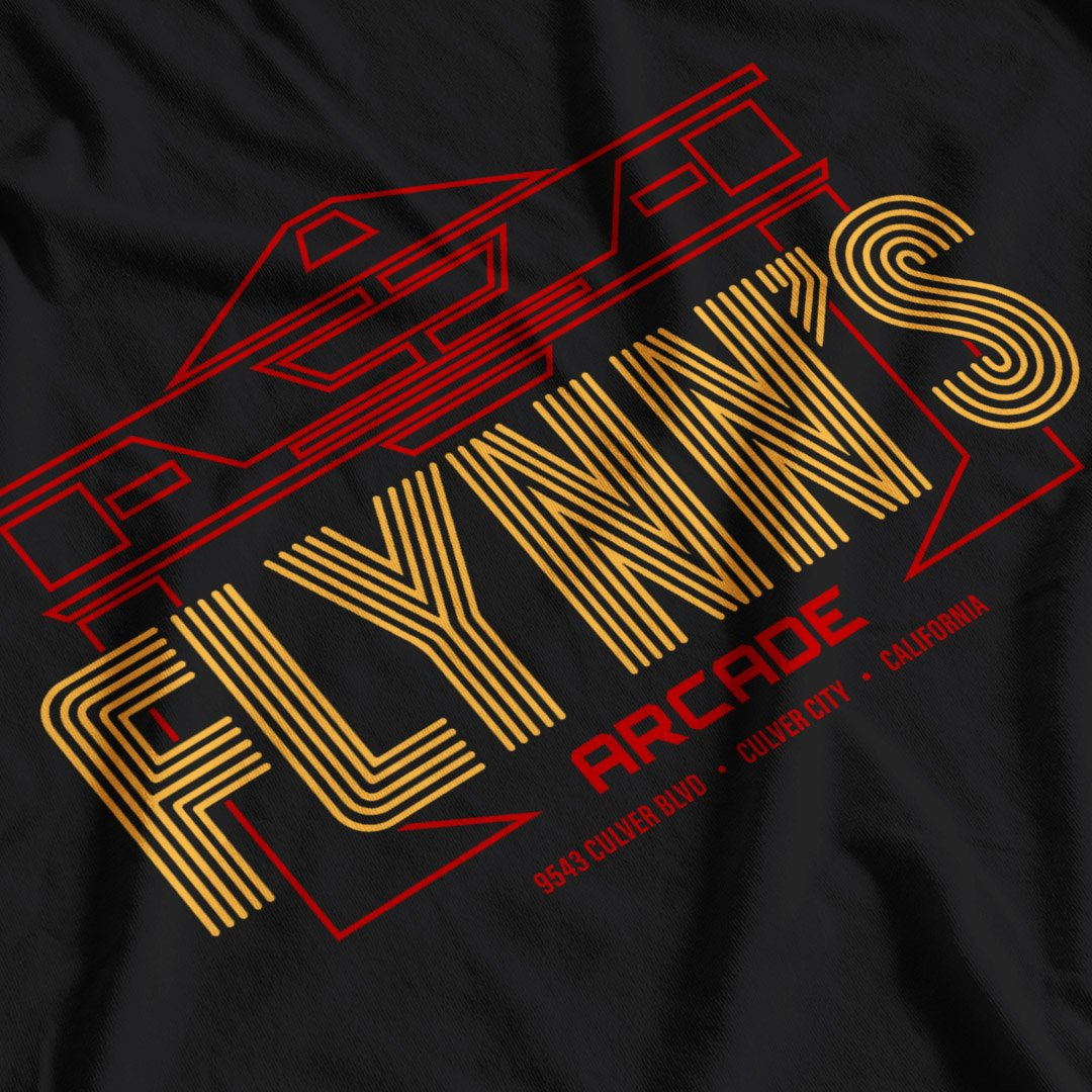 Tron Inspired Flynn's Arcade T-Shirt - Postees