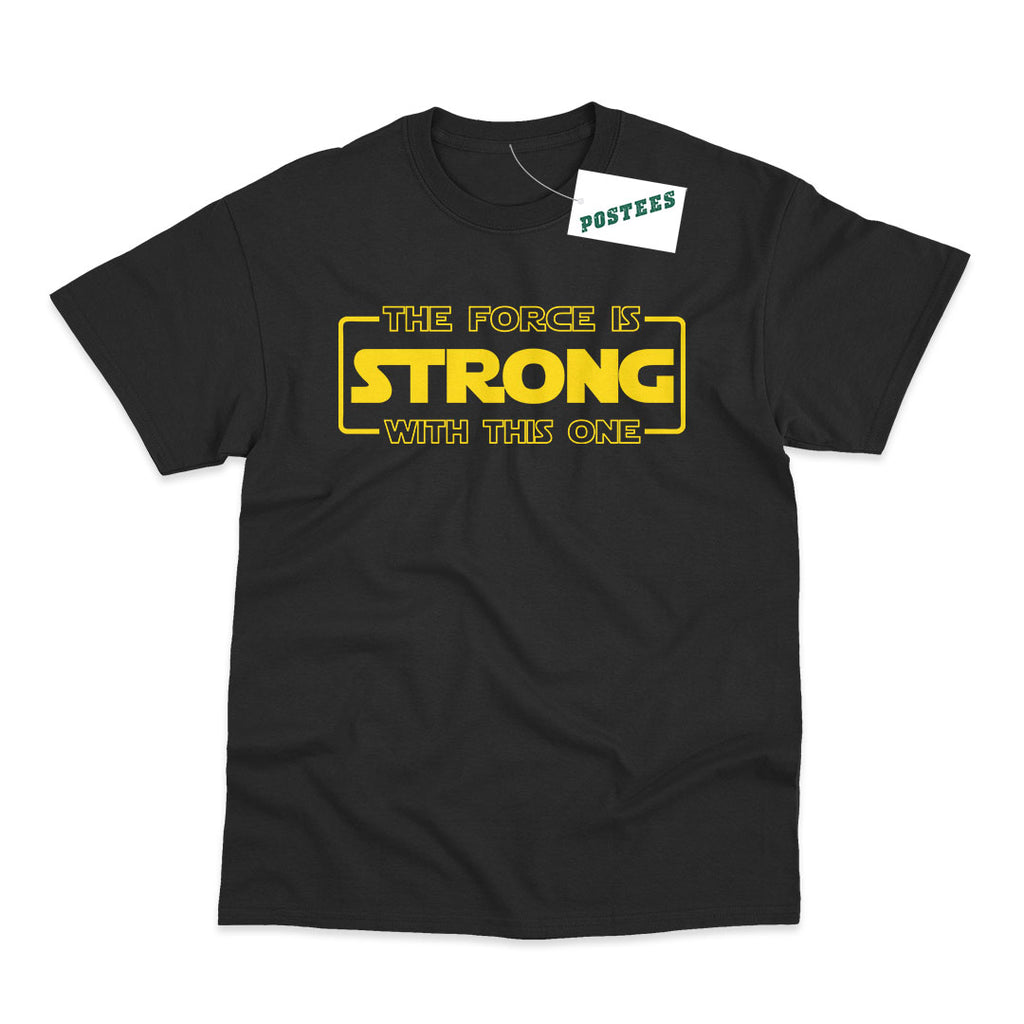 Star Wars Inspired Force is Strong Kids T-Shirt