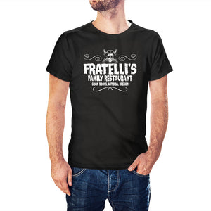 The Goonies Inspired Fratelli's Family Restaurant T-Shirt - PosteesUK