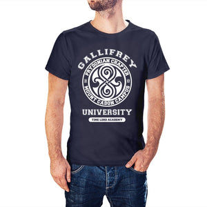Doctor Who Inspired Gallifrey University T-Shirt - Postees