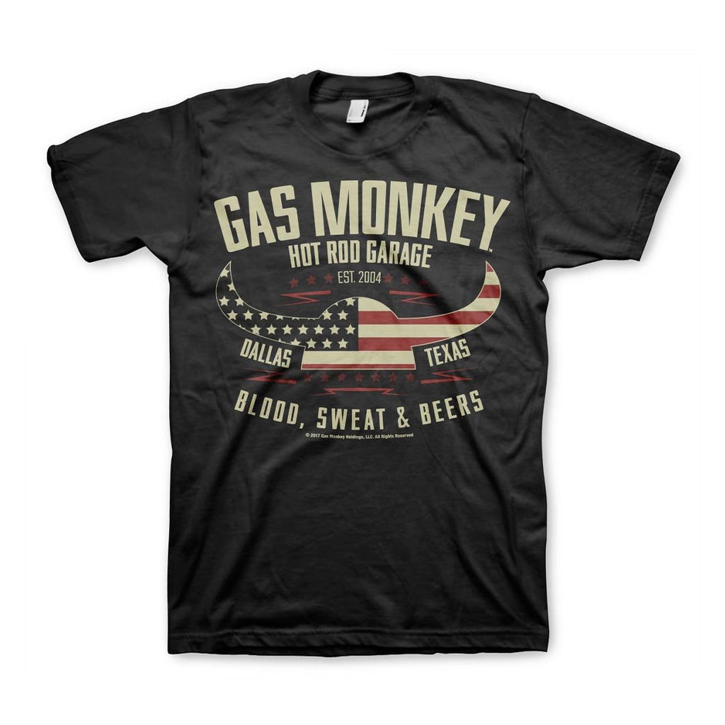 Official Gas Monkey Garage American Viking T-Shirt - Postees