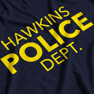 Stranger Things Inspired Hawkins Police Dept T-Shirt