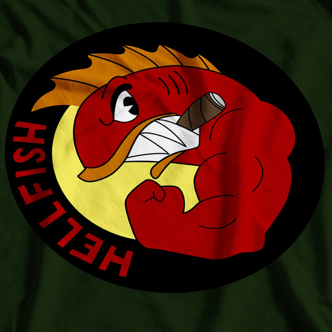 The Simpsons Inspired The Flying Hellfish T-Shirt - Postees