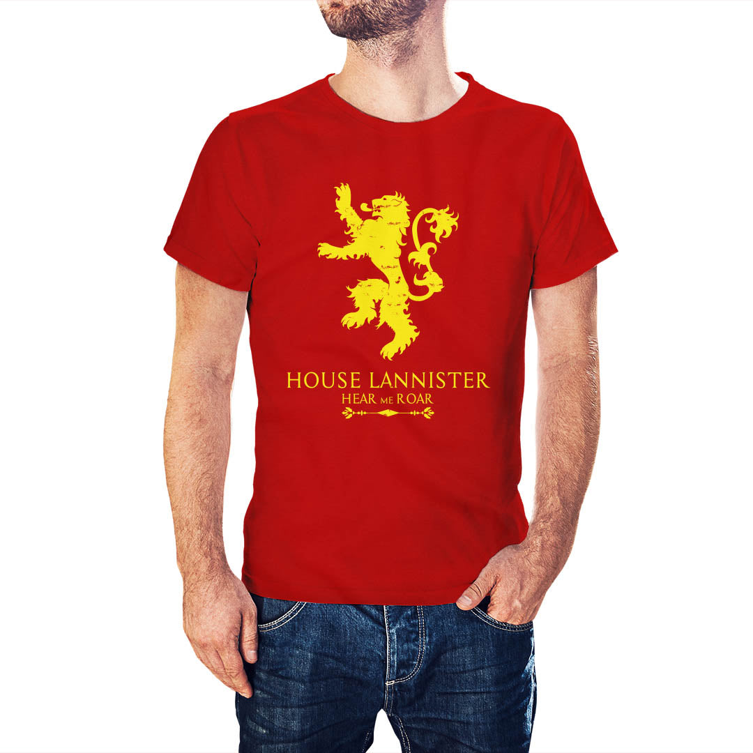 Game Of Thrones Inspired House Lannister T-Shirt