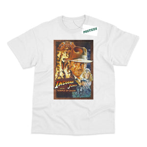 Indiana Jones Temple Of Doom Movie Poster Inspired T-Shirt - Postees