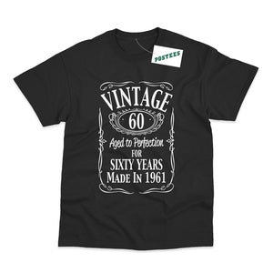 60th Birthday Vintage Made in 1961 T-Shirt
