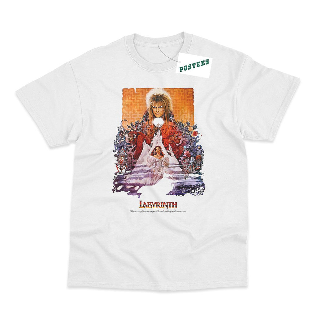Labyrinth Movie Poster Inspired T-Shirt - Postees