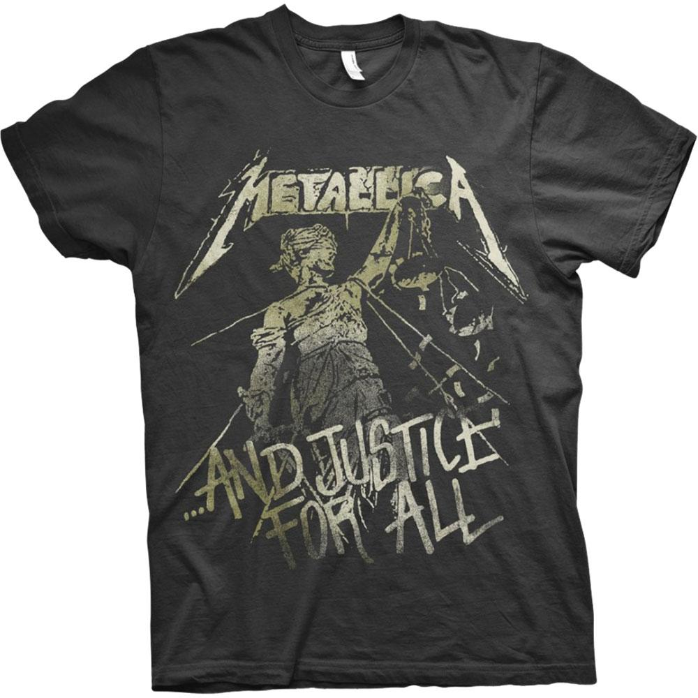 Official Metallica Justice Vintage T-Shirt