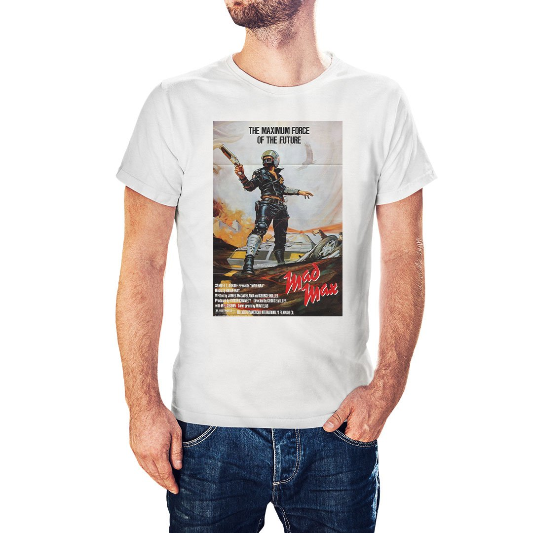 Mad Max Movie Poster Inspired T-Shirt - Postees