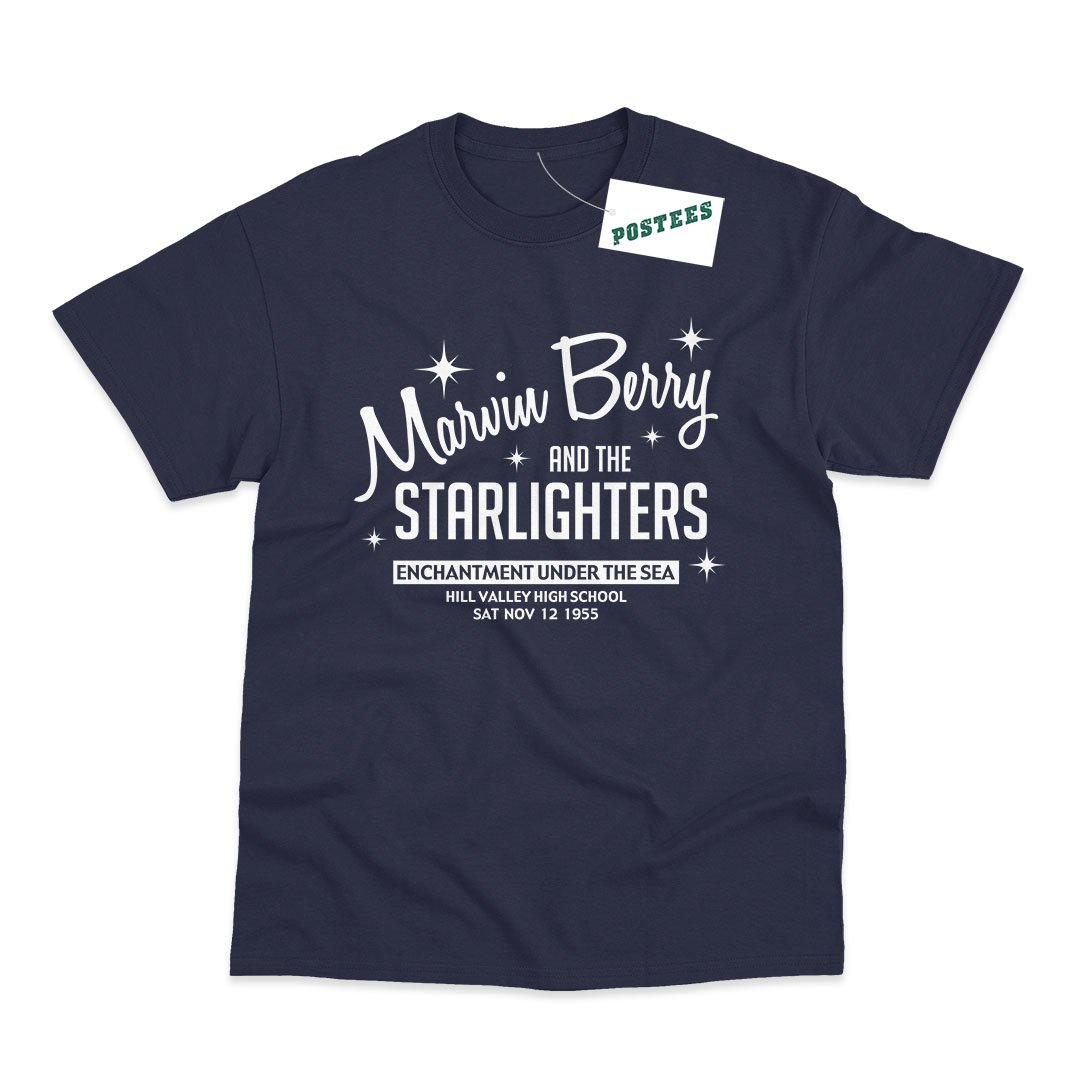 Back To The Future Inspired Marvin Berry And The Starlighters T-Shirt - Postees