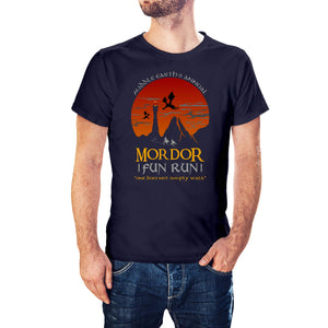 The Lord Of The Rings Inspired Mordor Fun Run T-Shirt - Postees