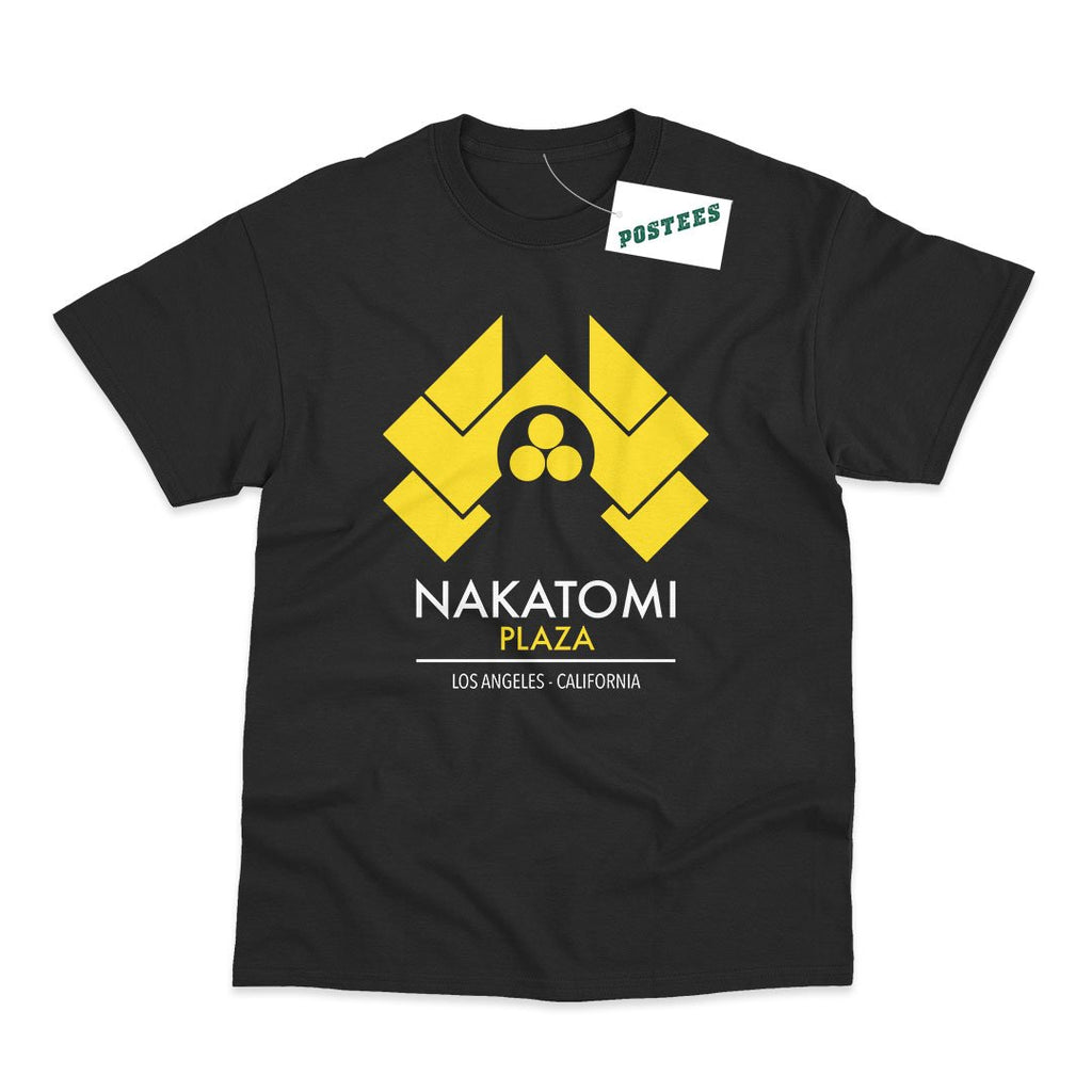 Die Hard Inspired Nakatomi Plaza T-Shirt - Postees