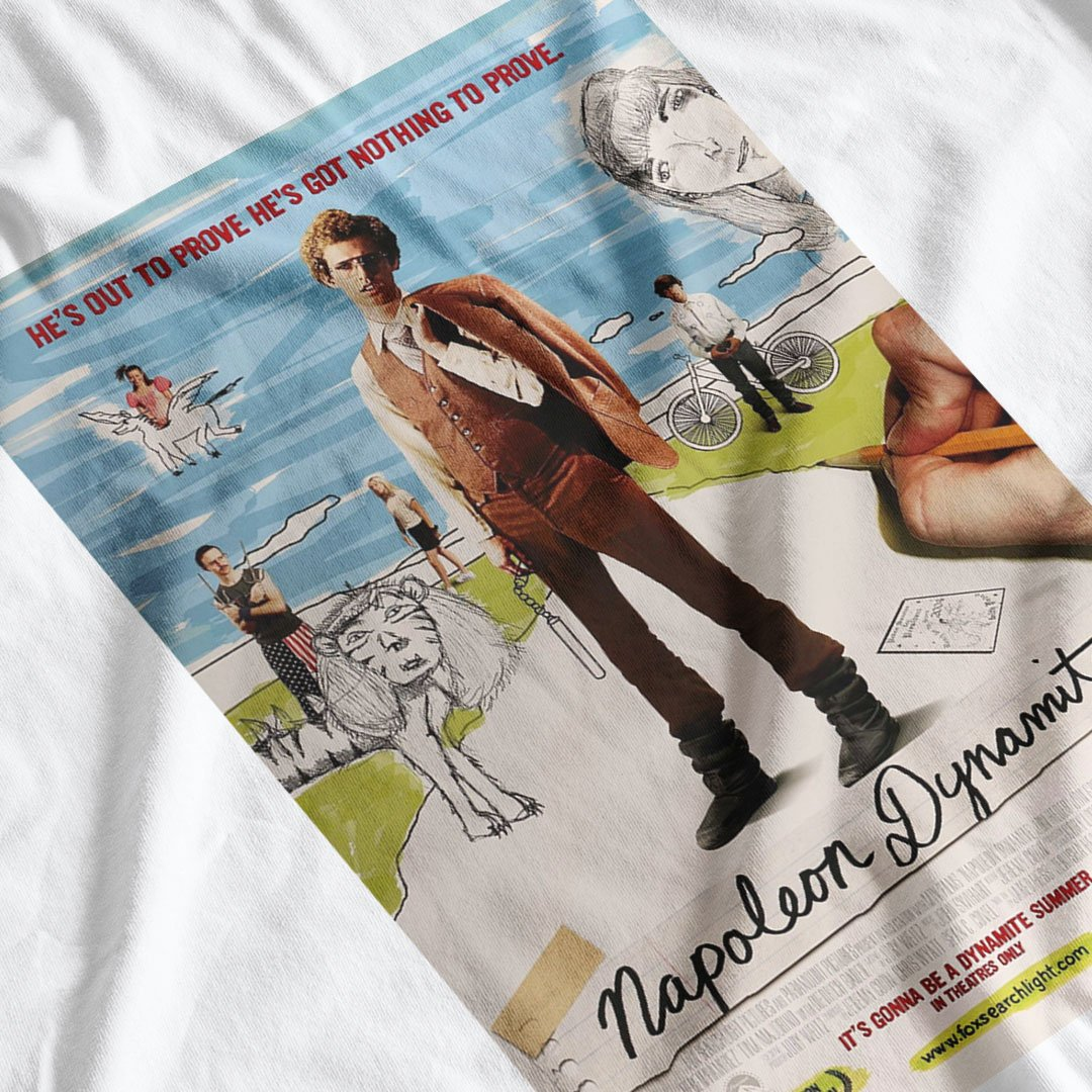Napoleon Dynamite Movie Poster Inspired T-Shirt - Postees
