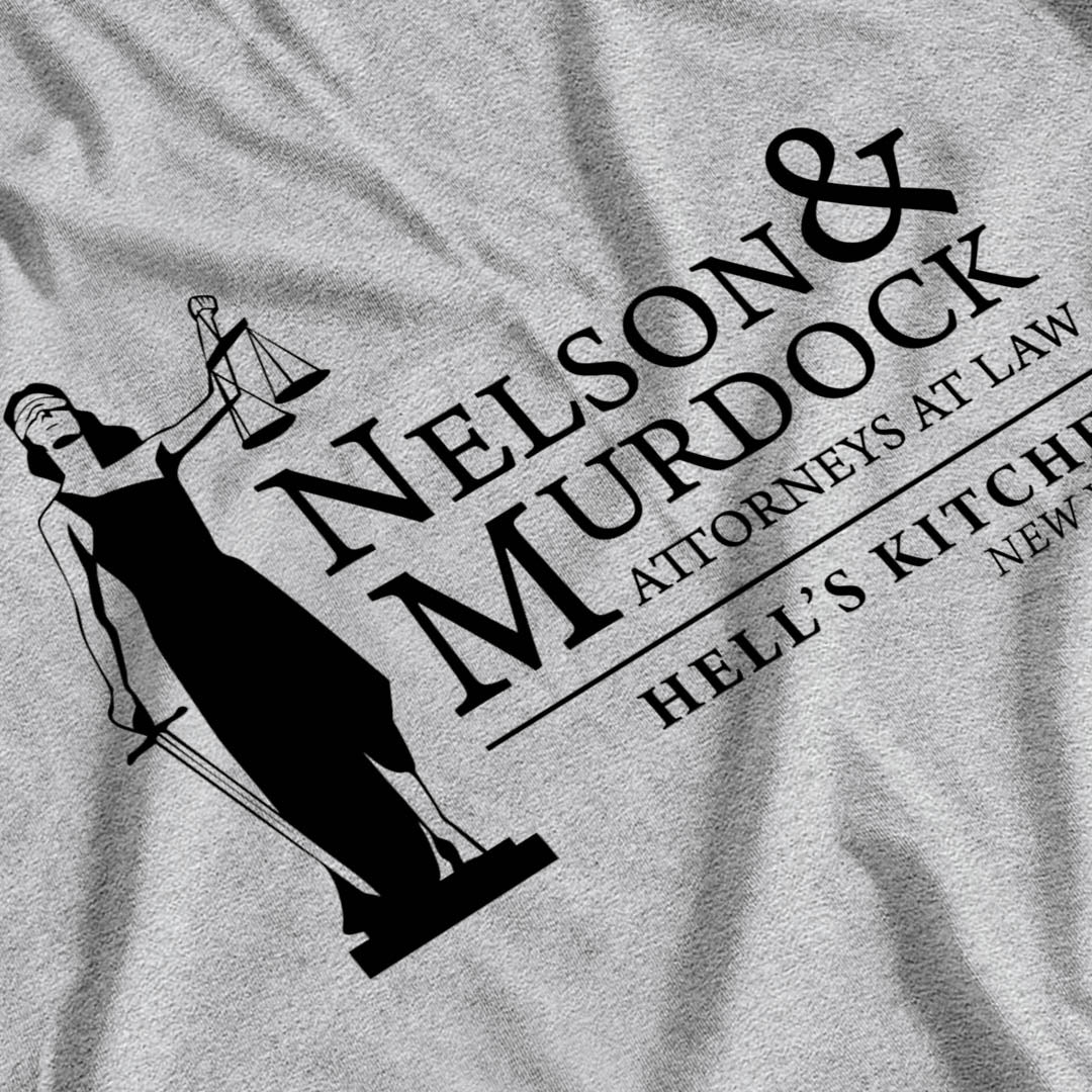 Daredevil Inspired Nelson & Murdock Law T-Shirt