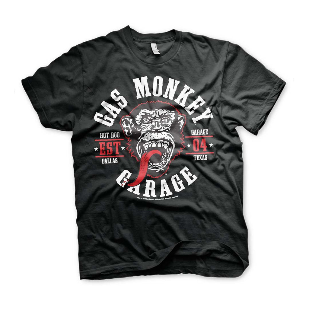 Official Gas Monkey Garage Round Seal T-Shirt