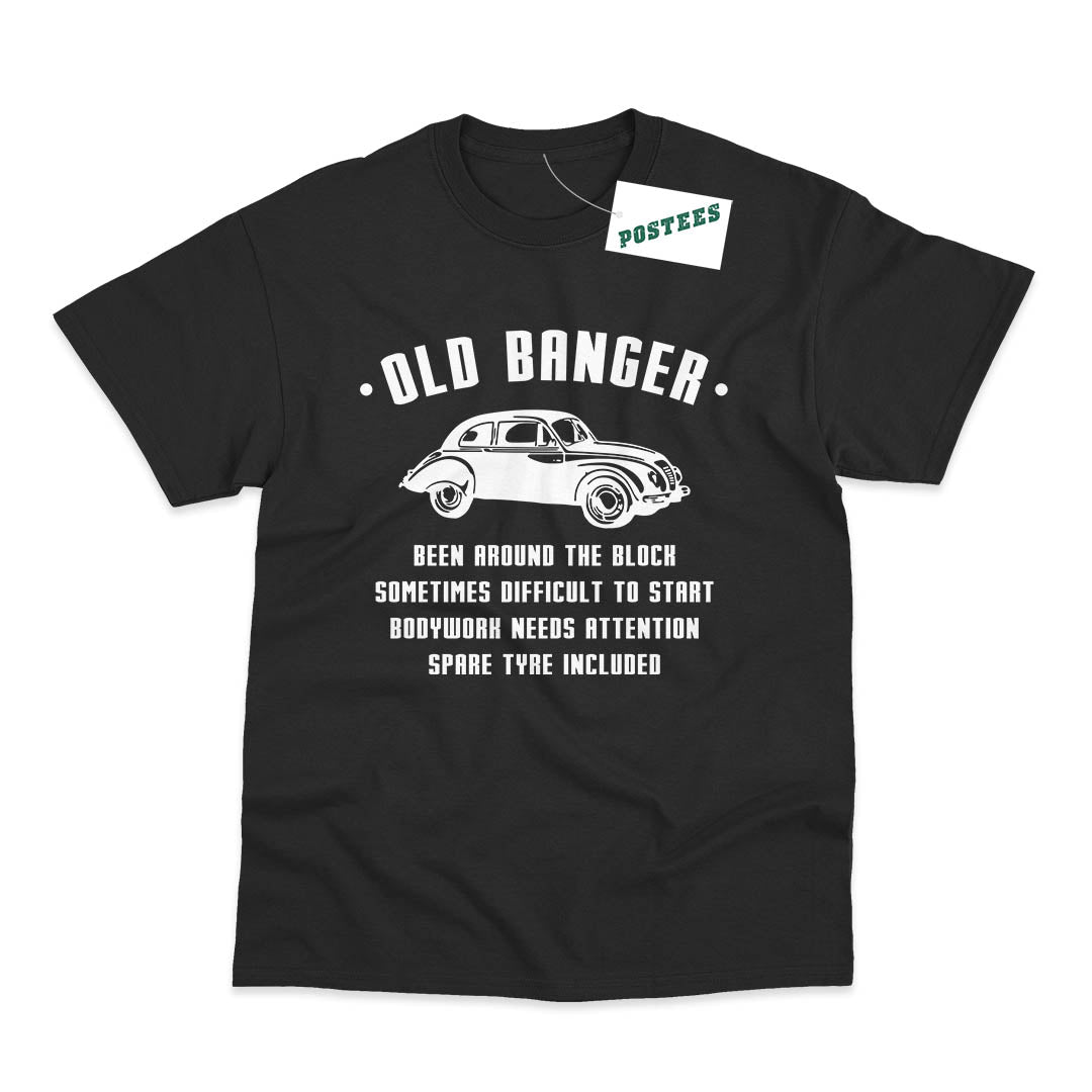 Old Banger Funny Birthday T-Shirt