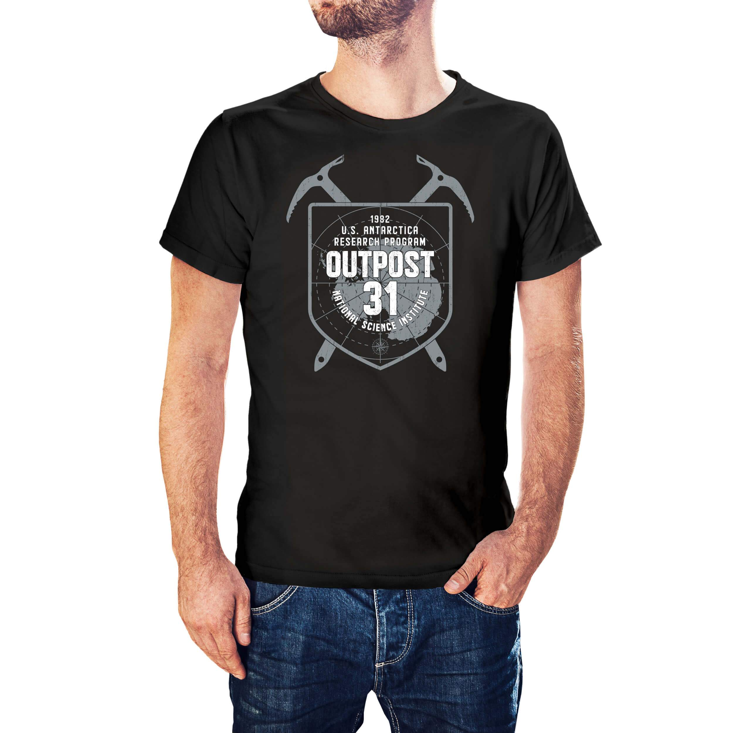 John Carpenter's The Thing Inspired Outpost 31 T-Shirt - Postees