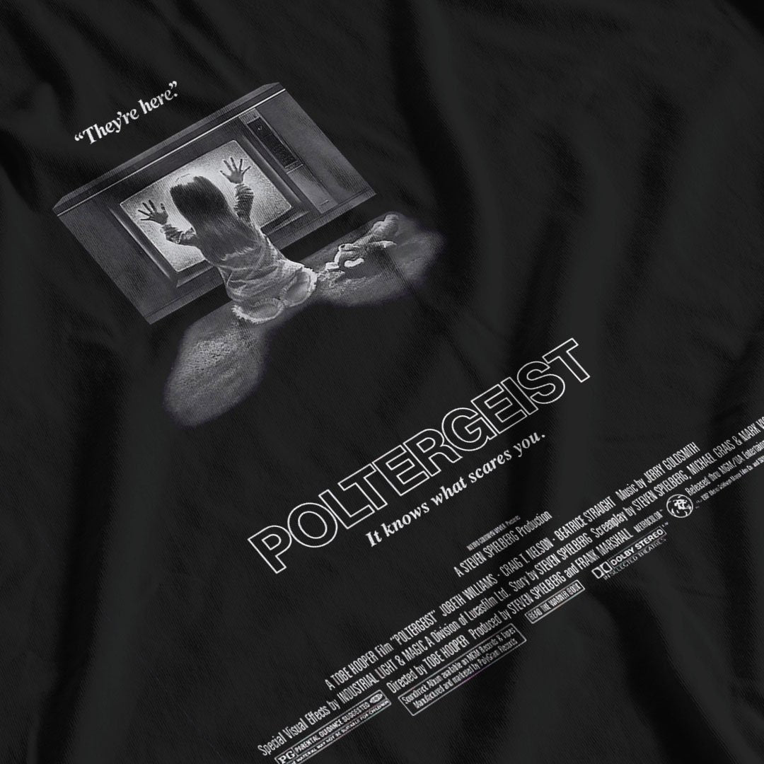 Poltergeist Movie Poster Inspired T-shirt - Postees