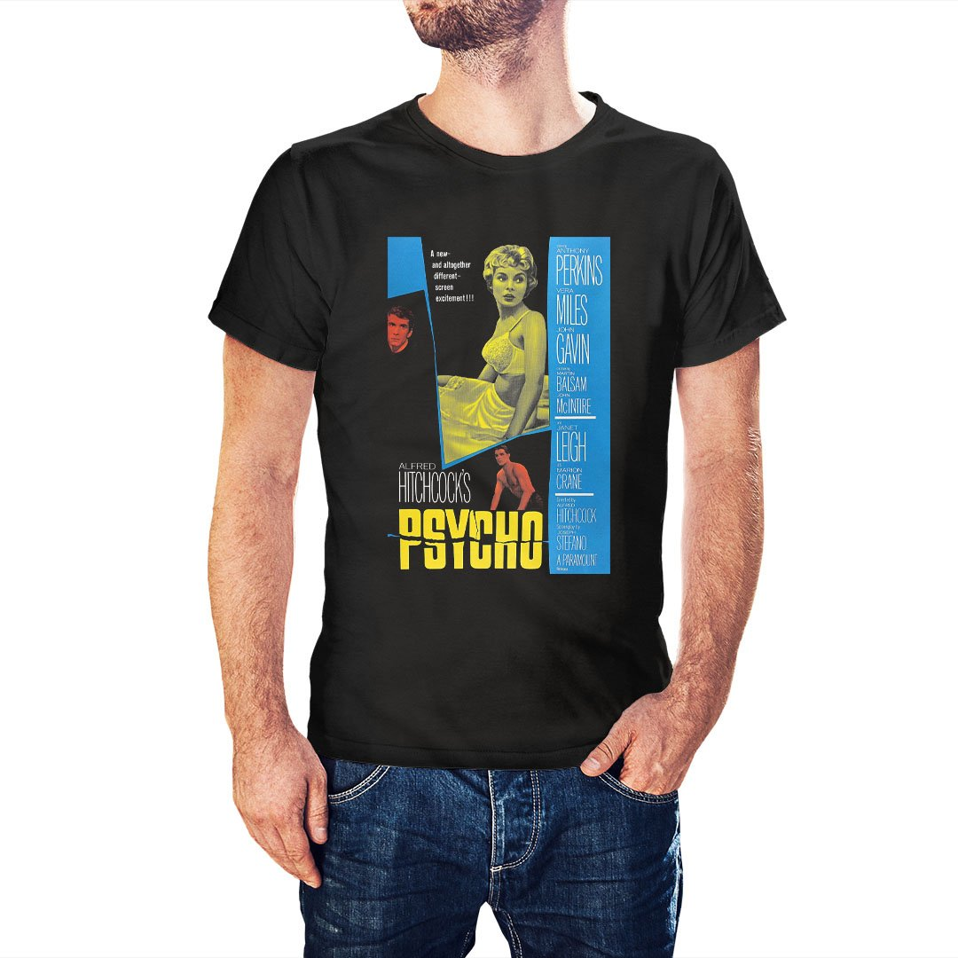 Psycho Movie Poster Inspired T-Shirt - Postees