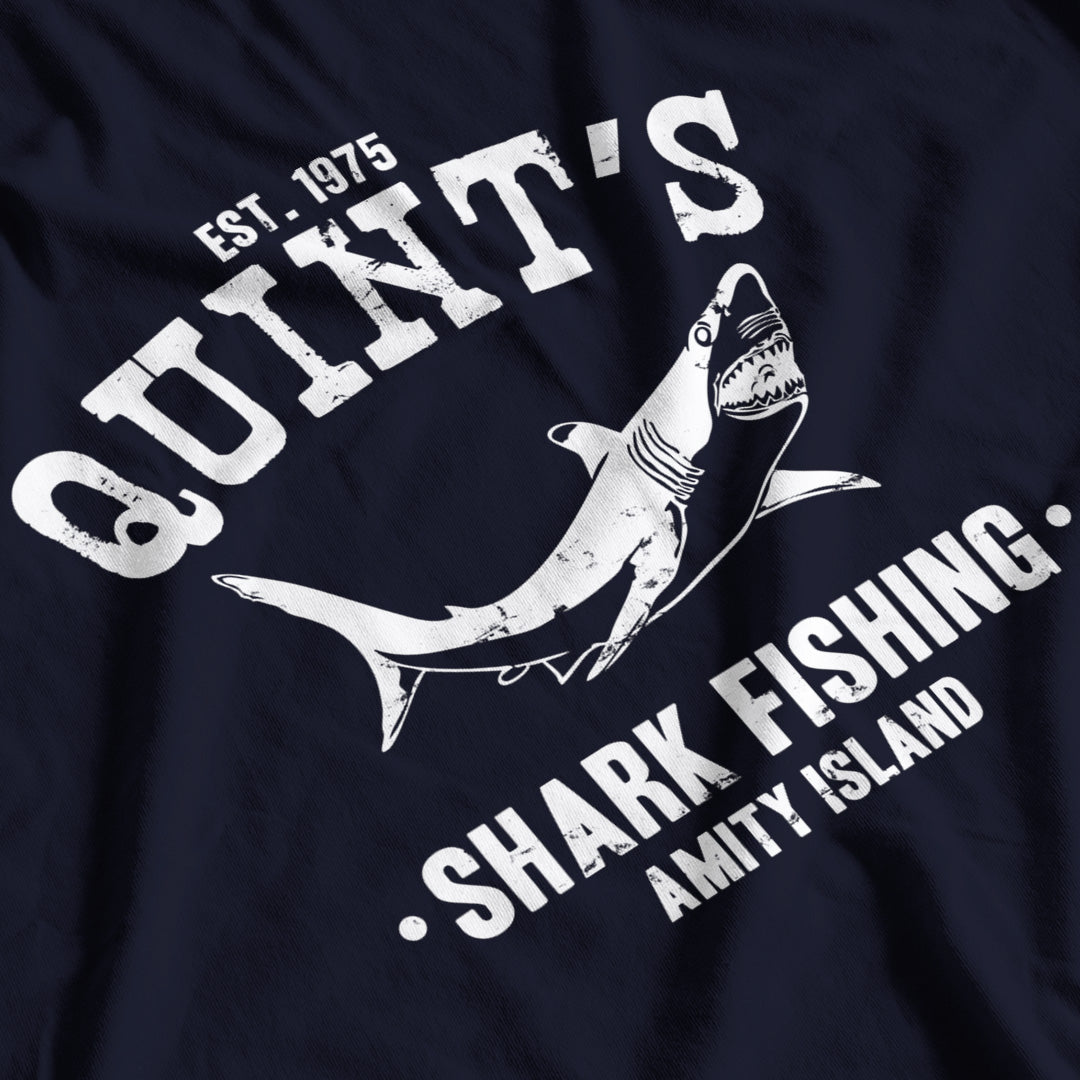 Jaws Inspired Quint's Shark Fishing T-Shirt