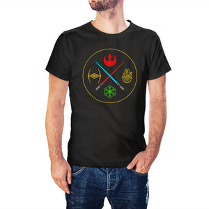 Star Wars Inspired Rebels Vs Empire T-Shirt - Postees