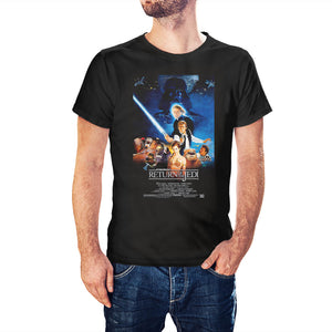 Star Wars Episode VI Return Of The Jedi Inspired Movie Poster T-Shirt