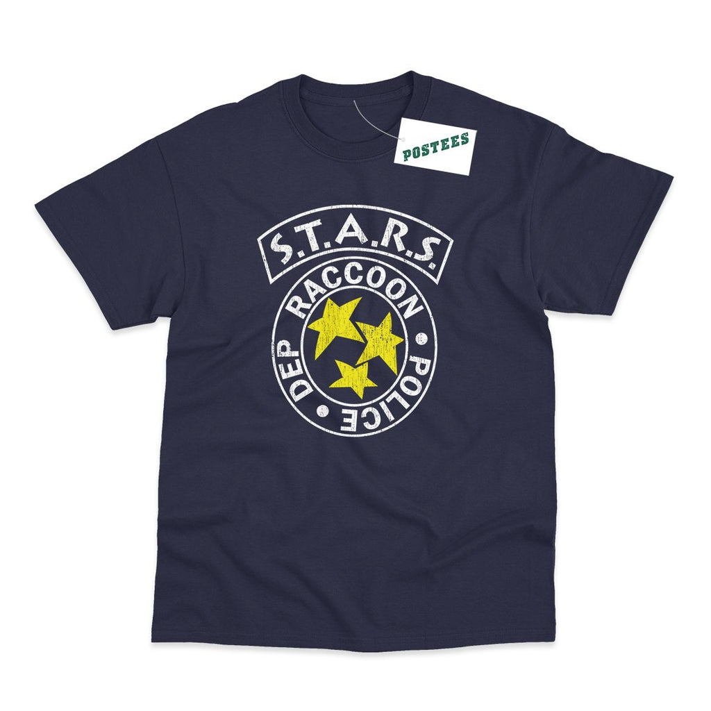 Resident Evil Inspired S.T.A.R.S. Raccoon City Police Dept T-Shirt - Postees